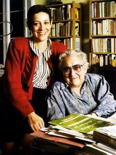 Montserrat Roig i Maria Aurèlia Capmany. Escritoras