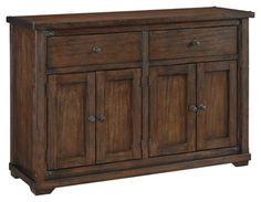 Zenfield Dining Room Server by Ashley HomeStore, Brown