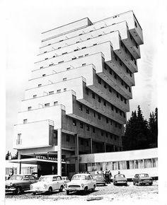 Panorama Hotel Ski Resort in Štrbské Pleso, former Czechoslovakia. (1970s)