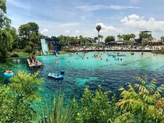 Buccaneer Bay Water Park at Weeki Wachee Springs, Florida