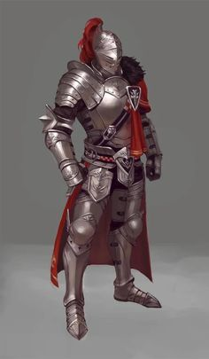 Armors 754423375066012068 - m Fighter Plate Armor Helm Cloak undercity ArtStation by gayeon kim Source by Dungeons And Dragons Characters, Dnd Characters, Fantasy Characters, Fantasy Character Design, Character Inspiration, Character Art, Fantasy Armor, Fantasy Weapons, Medieval Armor