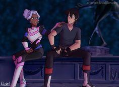 Kallura- I Won't Say I'm in Love- Keith and Princess Allura from Voltron Legendary Defender