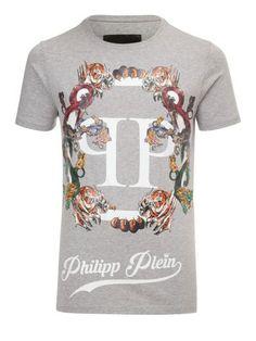 PHILIPP PLEIN Philipp Plein T-Shirt Plein'S Animals. #philippplein #cloth #https: