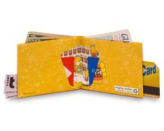mighty wallets® (Simpsons Duff) | QUIRKS
