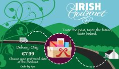 Send a Top Selling Hamper from or to Ireland. Food Hampers, Gift Hampers, Christmas Hamper, Chocolate Sweets, Irish Recipes, Online Gifts, Seaweed, Gourmet Recipes, Ireland