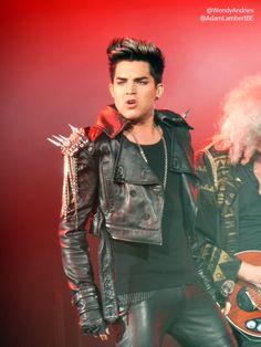 Adam Lambert, London show, 12th July 2012 | Source: @WendyAndries @AdamLambertBE