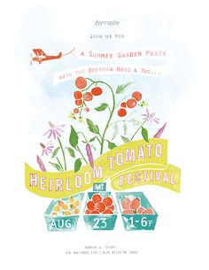 Heirloom Tomato Printable Poster in The BLOG at Terrain