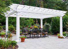 Garden Pergola Roof Plan