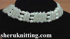 Crochet Necklace Tutorial 153
