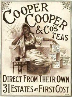 Cooper-Cooper & Co's Ceylon Tea London