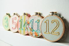 Embroidery wedding table plan