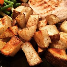 """Easy Masala Hash Browns I """"I sprinkled this spice mix all over some potato rounds and wow! I could eat this for breakfast, lunch, and dinner."""""""