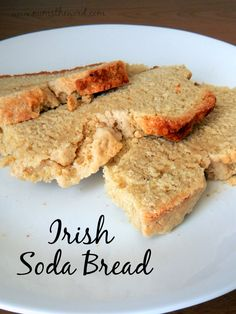 This traditional Irish Soda Bread is super easy to make and tastes delicious. Plus it's yeast free.  It's the perfect side to any Irish dish!