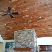 Custom tongue and groove wood paneling for walls and ceilings, tailored to the look & style you want. Pine paneling, cedar & many hardwood species. Tongue And Groove Panelling, Ship Lap Walls, Wood Paneling, Hardwood, Cherry, Ideas, Products, Wooden Panelling, Natural Wood