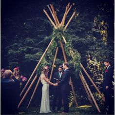 """I love this #tipi inspired #ceremony #arch featured on @greenweddingshoes  We would love to help you create one too for your wedding using our gorgeous Spruce poles! #tipiluxe #tipi #boho #bohemian #tipiwedding #noosawedding #bespoke #weddinginspo #sunshinecoastwedding"" Photo taken by @tipiluxe on Instagram, pinned via the InstaPin iOS App! http://www.instapinapp.com (04/20/2015)"