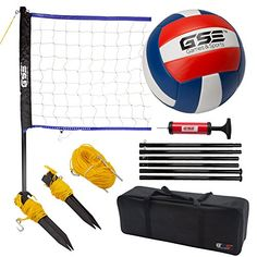 Amazing offer on GSE Games & Sports Expert Portable Volleyball Set. Fishing Suit, Toddler Slide, Volleyball Set, Backyard Beach, Beach Games, Outdoor Playground, Camping Games, Sports Activities, Cool Patterns