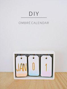 10 calendários diferentes que você pode fazer em casa