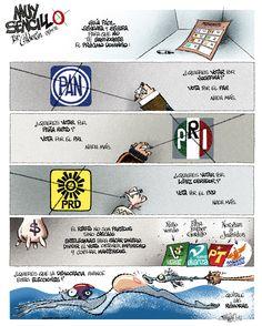 2012/06/24 MUY SENCILLO. Caricatura de Paco Calderón