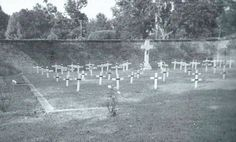 Portion of the cemetery of the Monastery of the Visitation, Mobile, AL.