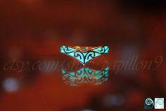 Ring van de Keltische ontwerp V GLOW in the DARK