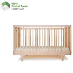 Inspired by the storybook circus wagon, the Caravan Crib plays with classic form and contemporary, ultra-bold colors. Thoughtfully considered, the Caravan Crib meets modern parent's needs: Safety (solid construction, stationary sides, conforms to the highest safety standards and 100% visibility of your child from all sides), Green (fully sustainable and made from the highest quality, sustainably harvested, solid European Maple and with 100% non-toxic and/or food safe materials + finishes).