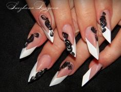 Velvet nails. Ok, these are edge nails..  they just rock so hard..I had to include them.