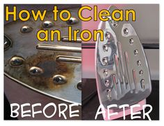 Binge Crafter: How to Clean an Iron...magic eraser