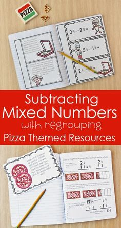 Subtracting Mixed Numbers with Regrouping (Using Manipulatives)