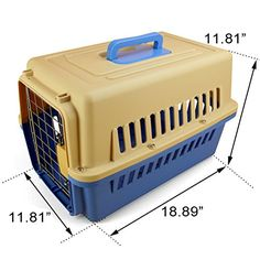 DAODANGUI Portable Pet Air Box Dogs Cats General L1889xW1181xH1181 Beige ** Check out this great product.
