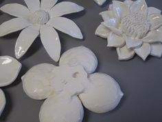 Wedding Gift ooak Floral Sclulpture MADE to by CoastalCeramics
