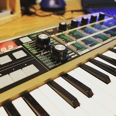 The MicroKorg! I love this thing, it's a little small but it packs a lot of punch. Not so much the flavour of #beachdreamingalbum but it will do! Learning! #perth #wamusic #fremantle #music #indie #originalmusic #album #stillbirds #indierock #alternative #rock #shoegaze #pop #makingsongs #songproduction #flstudio #soundcloud #new #comingsoon #new