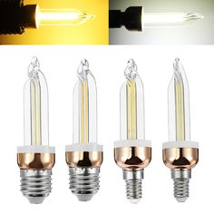 E27 E14 5W Vintage LED COB Ice Filament Edison Lamp Light Bulb White Warm White AC220V  Specification: Base type:E27/E14 Voltage:AC220V Wattage:5W Light source:COB Light color:Warm white(3000K) White(6400K) Beam angle:360 Material:Glass Feature: Easy to install. No UV and IR radiation. Low power consumption low heat and energy saving. Does not contain lead mercury and other pollution elements. More Energy efficient than Incandescent and most Halogen Lamps. Suitable for hotel dining-room…