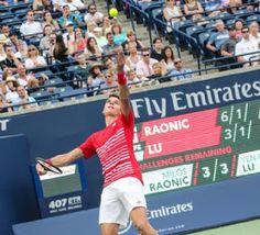 Blog Esportivo do Suíço:  Raonic estreia bem e enfrenta jovem americano em Toronto