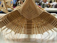 Anne Bowers is a skilled basketmaker from West Virginia. Ribbed basketry is her specialty and she shared her expertise at the Central ...