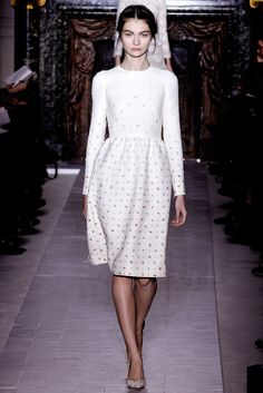 Valentino Spring 2013 Couture Fashion Show - Antonina Vasylchenko
