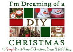 15 Easy Simple DIY Christmas Decorations & Gift Ideas