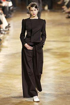 Yohji Yamamoto Couture AW02/03