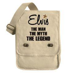 Elvis Presley Field Bag on CafePress.com