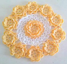 Inspirace Crochet Doily Rug, Crochet Tablecloth, Crochet Home, Thread Crochet, Doily Patterns, Crochet Patterns, Chrochet, Crochet Projects, Crocheting