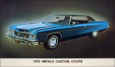 1973 Chevrolet Impala Custom Coupe