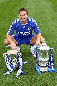 Frank Lampard Chelsea Chelsea Fc Players, Chelsea Fans, Chelsea Football, Sport Football, Michael Ballack, Soccer Guys, Football Players, Wayne Bridge, John Terry