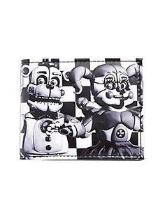Frightful bi-fold // Five Nights At Freddys Sister Location Characters Bi Fold Wallet