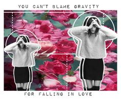 """""""You Can't Blame Gravity"""" by lucidmoon ❤ liked on Polyvore featuring art"""