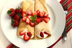 The Best Organic Crepes Recipe - Whole Lifestyle Nutrition | Organic Recipes | Holistic Recipes