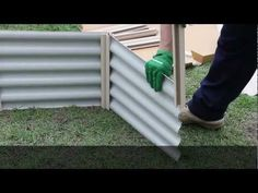 HEXIES RAISED GARDEN BED - Assembly Video Australian company - delivery anywhere in Australia flat rate $25. Hexagonal or rectangular shapes. Steel Size ranges put together in 5 minutes - Shop:  www.hexiesgardenbeds.com.au