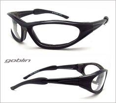Goblin Prescription Motorcycle Sunglasses with Foam Cushion - Bikershades.com