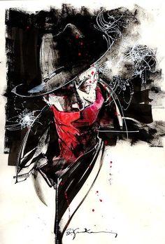 Bill Sienkiewicz ( The Shadow ) *