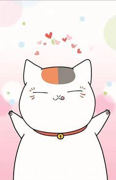 Kawaii Illustration, Natsume Yuujinchou, Kawaii Cat, Maneki Neko, Haikyuu Anime, Cute Wallpapers, Hello Kitty, Books, Pictures