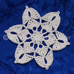 Ravelry: Windom Peak Snowflake pattern by Deborah Atkinson