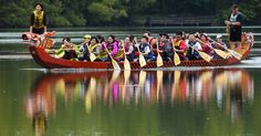 At 8:30 am today, an awakening ceremony will take place to 'awaken' the dragons in today's dragon boat race in Lansing.
